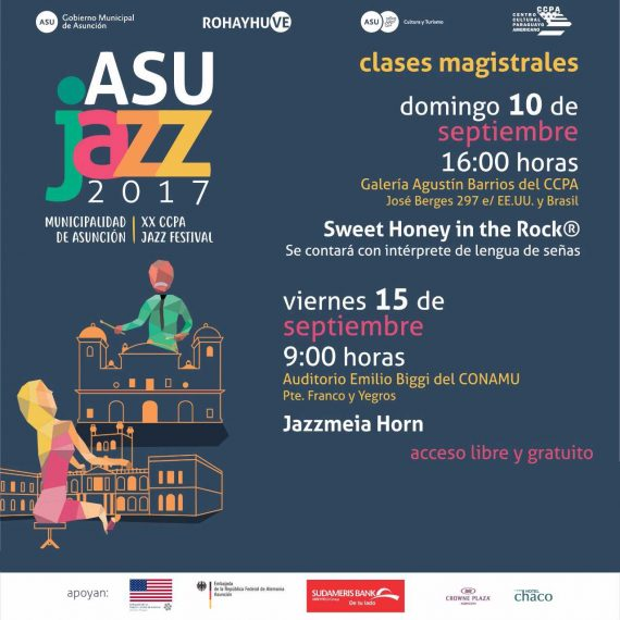 CLASES MAGISTRALES ASUJAZZ 2017