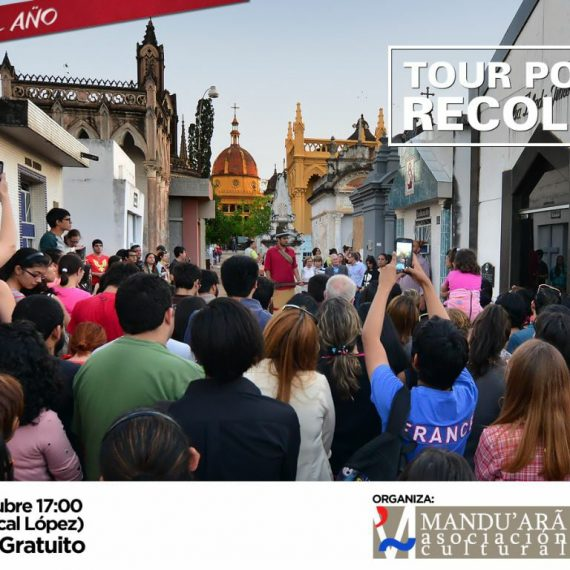 Ultimo Tour Recoleta 2017