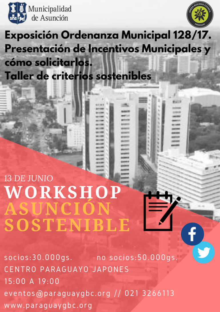 WORKSHOP. ASUNCIÓN SOSTENIBLE.