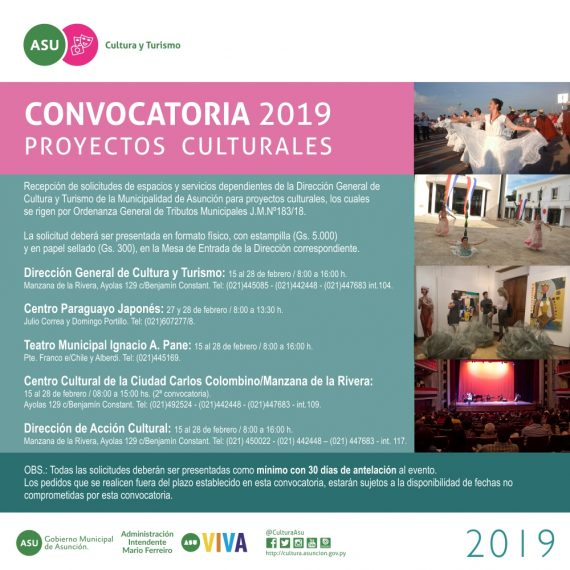FLYER CONVOCATORIA GRAL2019