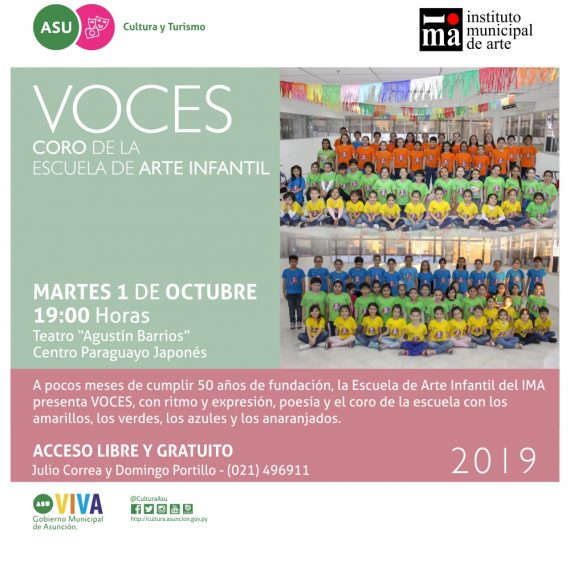 2019-10-01 FLYER IMA VOCES